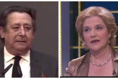 """Alfonso Ussía se monda de Pilar Rahola por acusar al Rey emérito de haberle tocado un pecho: """"Todo reinado tiene su momento de sombra"""""""