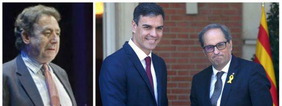 """Ussía sale en defensa de la Guardia Civil y sacude la del pulpo al """"paleto mayúsculo"""" de Torra y al """"calzonazos"""" de Sánchez"""