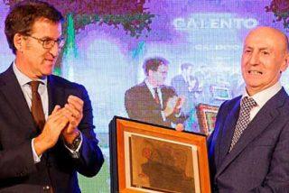 """Manuel Gómez Franqueira recibió de manos de Núñez Feijóo el """"Premio Galento"""""""
