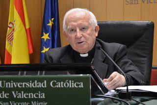 """El cardenal Cañizares advierte a los católicos sobre el apaño Sánchez-Iglesias: """"¡Alerta, alerta! España en peligro"""""""