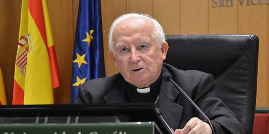 """El cardenal Cañizares le 'da la extrema unción' a los católicos sobre el apaño Sánchez-Iglesias: """"¡Alerta, alerta, España en peligro!"""""""