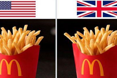 ¿Sabes en qué se diferencian las patatas fritas de McDonald's de Estados Unidos y de Europa?