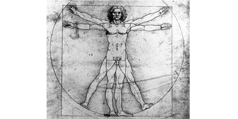 """¿Sabes por qué """"El hombre de Vitrubio"""" de Da Vinci es tan icónico?"""