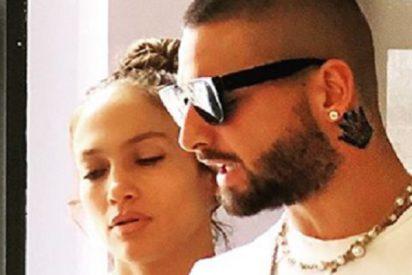 ¿Sabías que Jennifer Lopez y Maluma cantan juntos en el rodaje de 'Marry Me'?