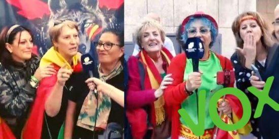 """Periodista Digital, testigo de la 'locura VOX' de Vistalegre: """"Vamos a darle una patada a 'El Chepas' para mandarle a Galapagar"""""""