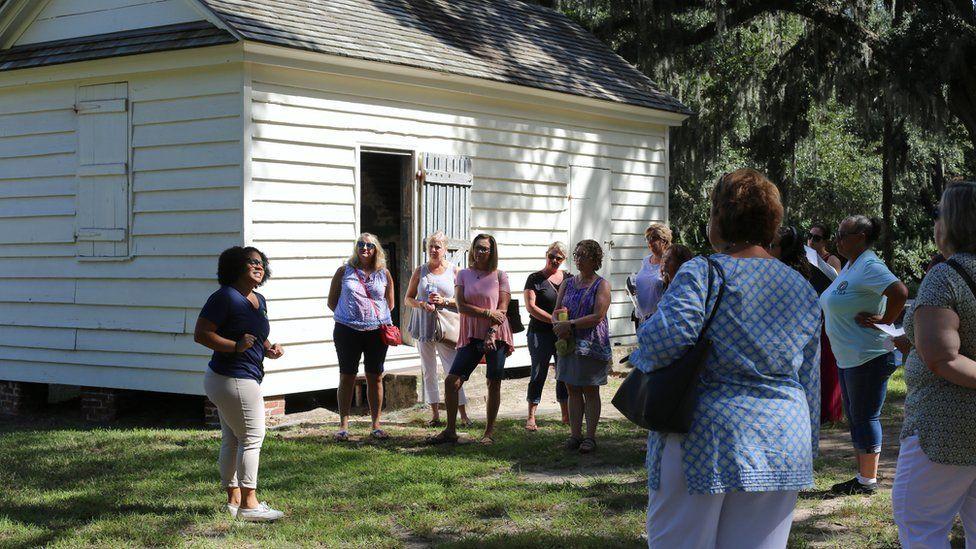 Así son las visitas turísticas a las plantaciones esclavistas de EE.UU.