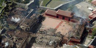 Brutal incendio destruye el castillo de Naha en Okinawa, Patrimonio de la Humanidad en Japón