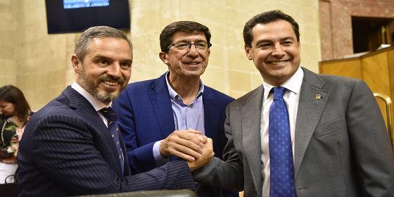 Vía libre para la aprobación de presupuestos en Andalucía
