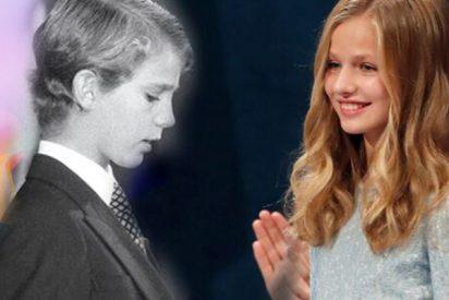 Diferencias y parecidos entre el discurso de la Princesa Leonor y el que pronunció su padre, el ahora Rey Felipe VI, siendo Príncipe de Asturias en 1981