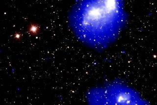 """Así son los 4 cúmulos de galaxias que están colisionando para formar """"uno de los objetos más masivos del universo"""""""