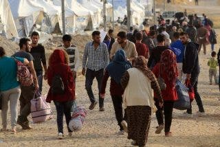 """Erdogan insiste en su amenaza de abrir las puertas de Europa a millones de refugiados sirios: """"No es chantaje, sino una solución"""""""