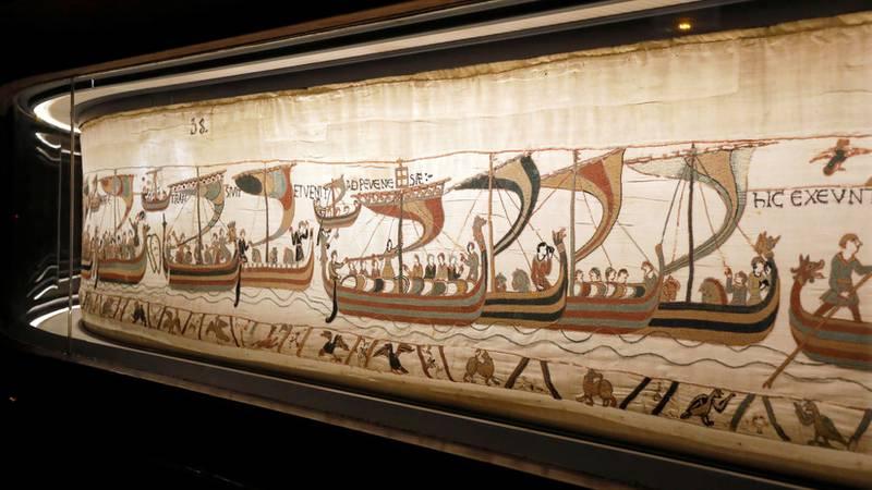 Descubren el misterio del origen del famoso tapiz de Bayeux