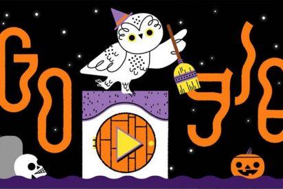 Google lanza este espeluznante 'doodle' para celebrar Halloween; ¿Truco o trato?
