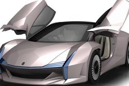 Así es el coche deportivo hecho de fibra de madera y desechos agrícolas