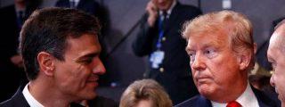Trump ya estudia sanciones contra España, por el apoyo financiero de Sánchez y el PSOE al dictador Maduro