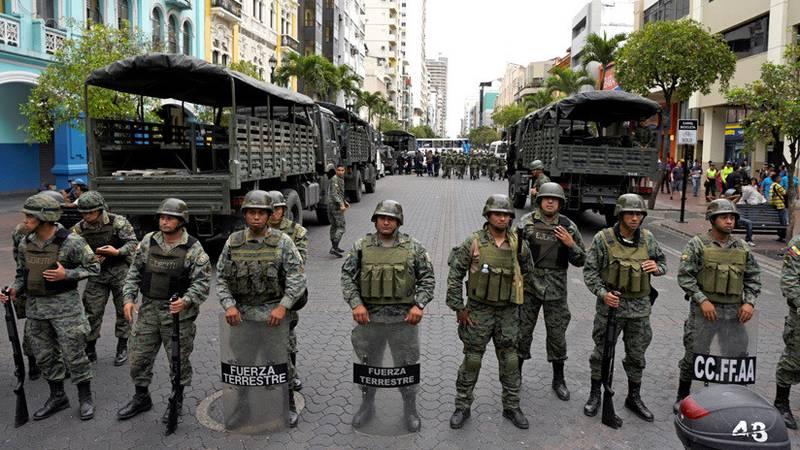 Identificar y neutralizar a grupos insurgentes es la nueva directriz de las Fuerzas Armadas de Ecuador