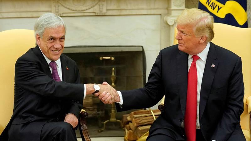 Trump afirma que hay injerencia extranjera tras las feroces protestas en Chile