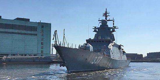 Putin confirma que la corbeta Gremiaschi será equipada con misiles hipersónicos Tsirkón
