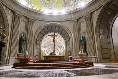 Acto de desagravio y oración por los caídos en la reapertura de la basílica del Valle