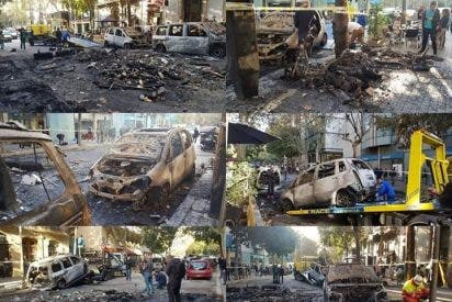 Guardias civiles publican una espantosa foto y arruinan mundialmente la imagen del independentismo