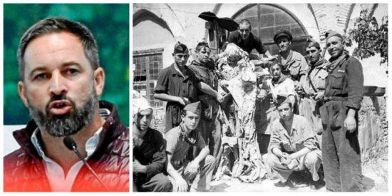 Santiago Abascal 'exhuma' una espeluznante foto que deja tiritando al desenterrador franquista Pedro Sánchez