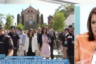 Así se evidencia que el PSOE ha hecho de TVE su cortijo: Lastra pasa de responder a las preguntas sobre el nepotismo de la alcaldesa de Móstoles