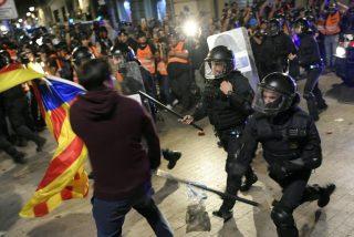 'Barcelona Ciudad sin Ley': se reactiva la violencia 'indepe' en Cataluña