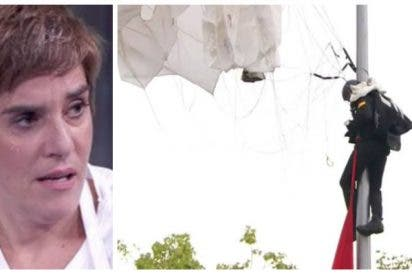 La imb**** del día: Anabel Alonso hace un vomitivo chascarrillo sobre el cabo paracaidista Pozo