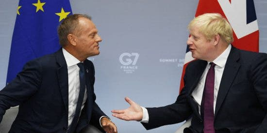 """La UE y Reino Unido llegan a """"un nuevo gran acuerdo"""" sobre el Brexit"""