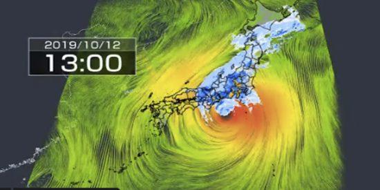 Alerta máxima en Japón por la llegada del tifón Hagibis