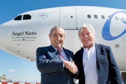 Air Europa colabora con la Fundación Ángel Nieto