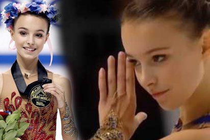 Esta patinadora de 15 años gana el Skate America en Las Vegas con dos saltos cuádruples