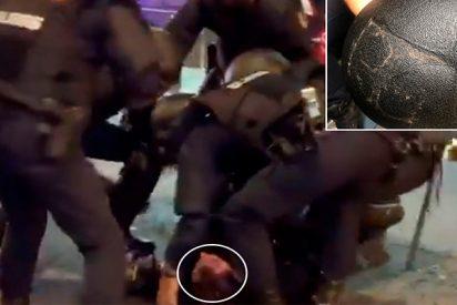 Así es Ivan 'Raya 32', el policía de Vigo al que los sectarios 'indepes' catalanes dejaron en coma de una pedrada
