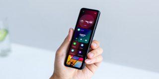 Así es el curioso 'smartphone' alargado que cambia de color, creado por cofundador de Android