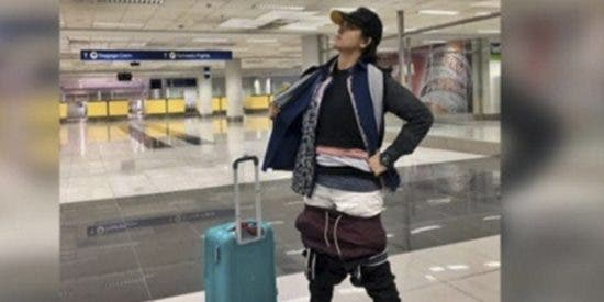 Viral: Así es el ingenioso truco de esta mujer para no pagar por exceso de equipaje