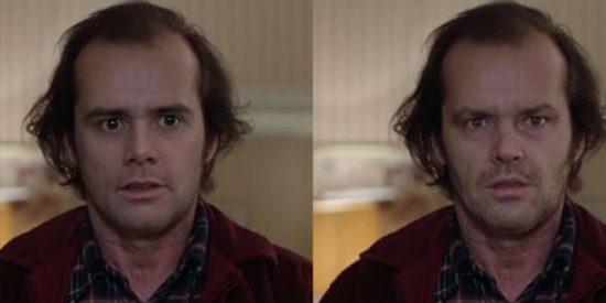 El inquietante 'deepfake' de Jim Carrey imitando a Jack Nicholson que ha prohibido California