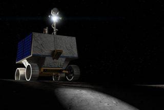 Así es el nuevo vehículo espacial de la NASA que buscará agua en la Luna en 2022
