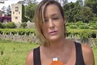 Así fue el increíble incidente de una reportera de Antena 3 en plena cobertura