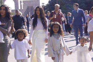 Así fue el multitudinario bautizo del clan West-Kardashian en Armenia