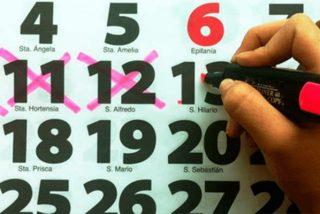 Así será el calendario laboral de 2020: tiene 12 festivos, 8 comunes a todo el país