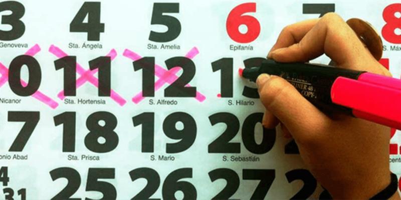 Así será el calendario laboral de 2020: tiene 12 festivos, 8 comunes a toda España