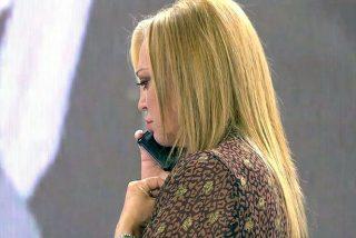 """La angustiosa llamada de Isabel Pantoja, presa de los nervios, a Belén Esteban: """"No llores Isabel, tranquilízate"""""""