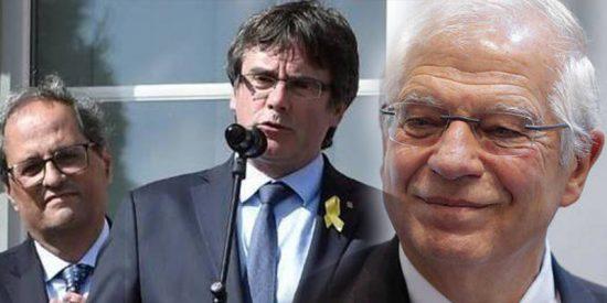 Borrell deja con el 'calzón bajado' a Puigdemont en Europa con un dosier, ahora en tres idiomas