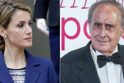 """Bronca épica de Letizia y Jaime Peñafiel: """"Te metes con mi abuelo el taxista"""""""
