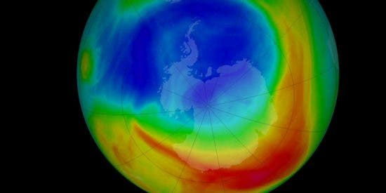 Buenas noticias: El agujero de la capa de ozono alcanza su mínimo histórico según la NASA