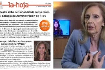Los matones sindicales de la izquierda amenazan a la valiente periodista que denuncia las intoxicaciones de 'Tele-Sánchez'
