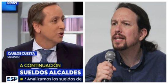 """Carlos Cuesta deja KO al perrito faldero de los golpistas por sus trolas sobre la sentencia: """"Es complicado que mientas más"""""""