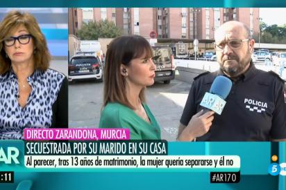 """Ana Rosa Quintana estalla contra una mujer secuestrada por su marido y que retira la denuncia: """"no queremos ir a más entierros"""""""