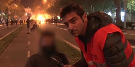 Nadie al volante: vean cómo explica un CDR las razones por las que quiere separarse de España y quemar Barcelona