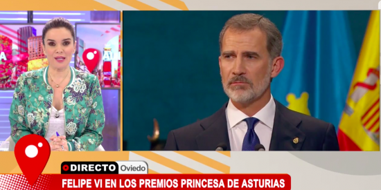 Un micro abierto en Cuatro en el discurso de la Princesa Leonor hunde a Carme Chaparro aireando su ridículo republicano